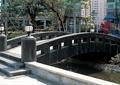 园桥,小拱桥,园灯