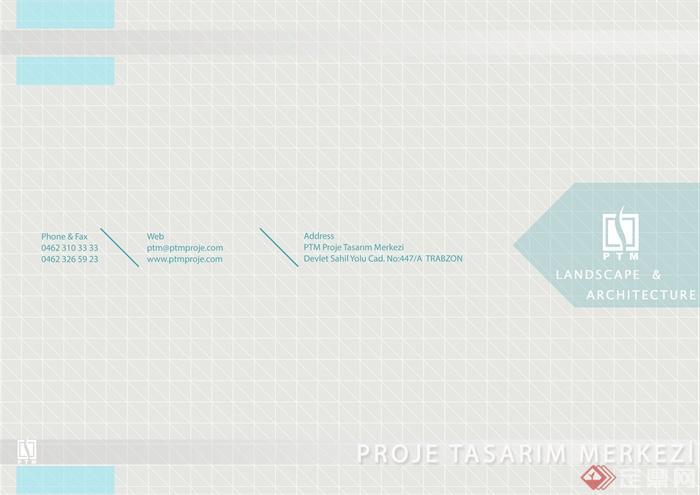 建筑设计文本封面_PTM LANDSCAPE DESIGN(景观设计)-文本封面-设计师图库