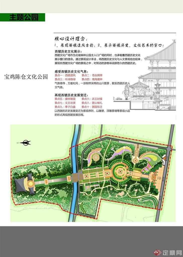 西虢文化广场总平