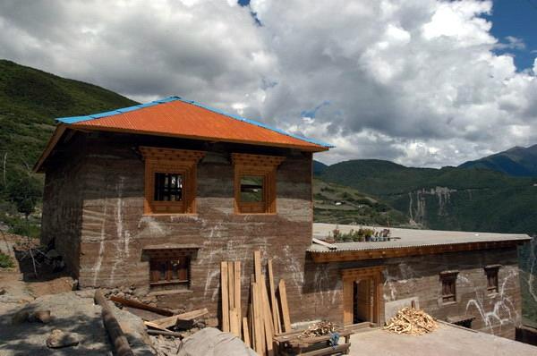 藏式民居,住宅,住宅建筑,民居