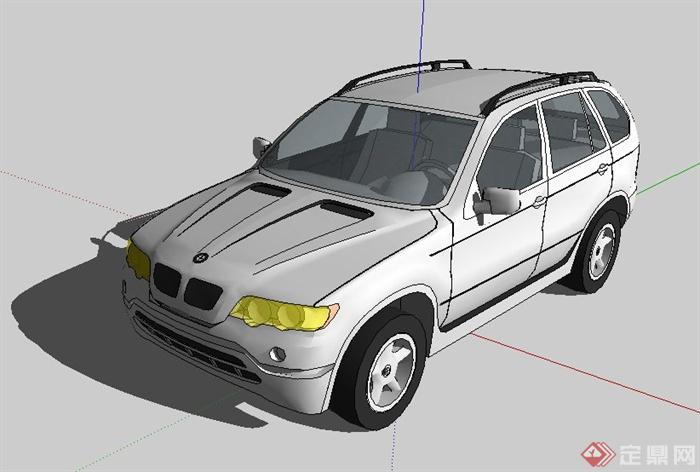 10款汽车su模型(2)