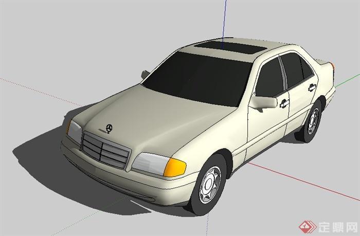 10款汽车su模型(4)