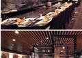 餐厅,餐桌椅,形象墙