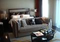 卧室,床,沙发,茶几,台灯,卧室装饰