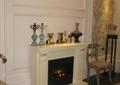 客廳,壁爐,擺件,背景墻,地面鋪裝