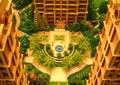 沙盘模型,住宅景观,铺装