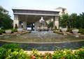 喷泉水景,叠水景观,花钵,景观水池
