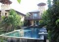 泳池,别墅,庭院景观