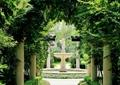 花架,廊架,喷泉水景