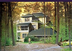 12栋别墅效果图及户型图设计JPG图