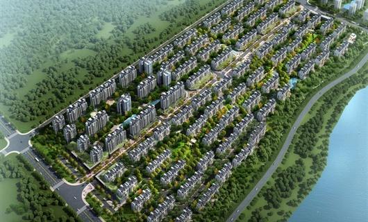 某住宅小区概念规划设计
