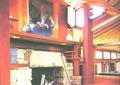 壁炉,桌椅,装饰画