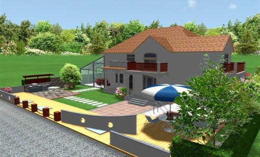 爱伦坡艺墅庭院设计