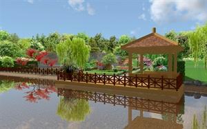 昆山某别墅的花园方案