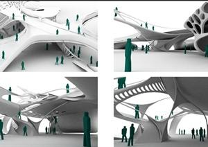 留学生景观、建筑设计方案作品