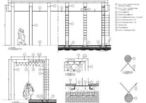 特色棚架设计PDF施工图