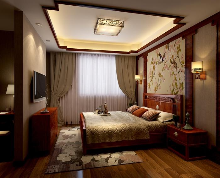 现代某三层别墅室内设计CAD施工图与SU模型(附带JPG效果图)1