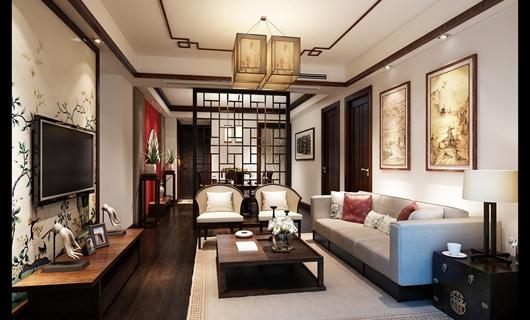 上海共和新路 中海万锦城新中式