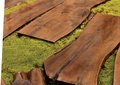 园路,模板,草坪