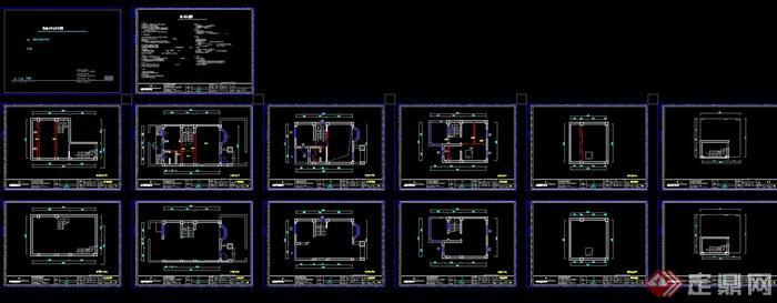 某三层欧式风格住宅建筑与室内设计SU模型(7)