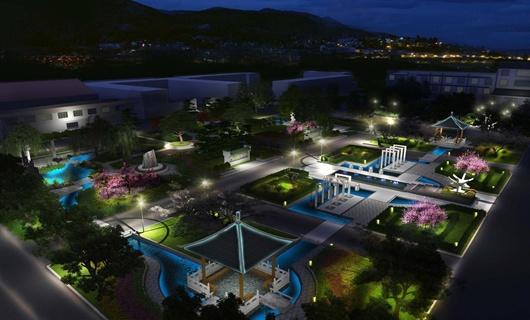 医院中心景观方案