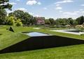 墓陵园,水景,草坪
