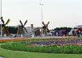 花卉植物,花卉雕塑,风车房
