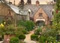 花房,阳光房,庭院景观,灌木丛