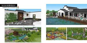 生态农场景观设计