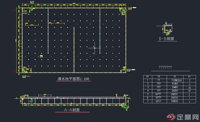 某市給水工程設計CAD圖(3)