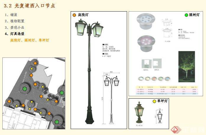 某商业街道景观设计方案(4)