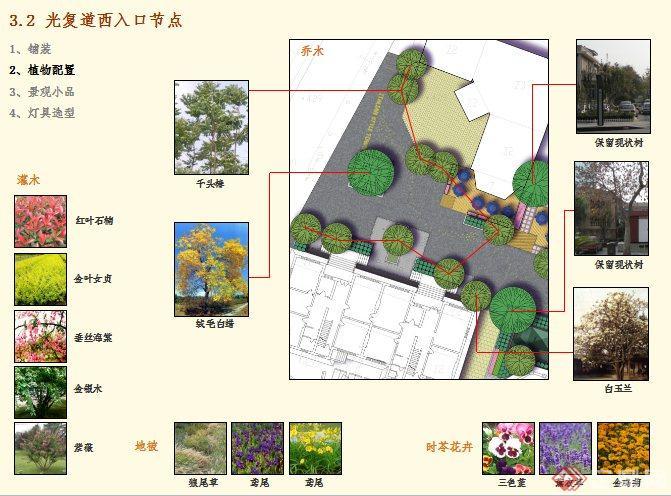 某商业街道景观设计方案(2)