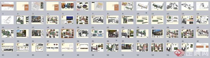 某商业街道景观设计方案(6)