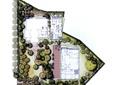 住宅景观,小区景观,植物平面