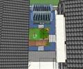 庭院景观,地面铺装,遮阳伞,阳光房,木平台