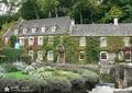 乡村住宅,乡村景观,水景,河流景观,外墙装饰