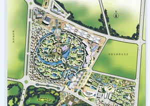 某居住区景观概念设计方案