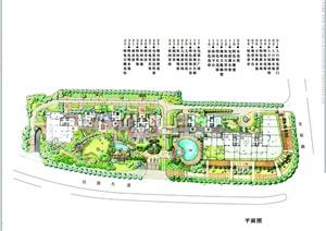 某居住小区景观设计方案图册