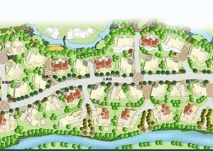 某郊区别墅景观设计JPG方案图