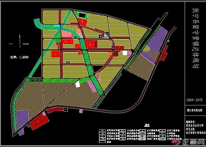 某留守营镇规划设计方案图(1)