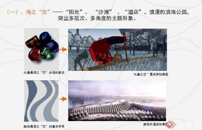 现代风格滨水城市景观方案设计(4)