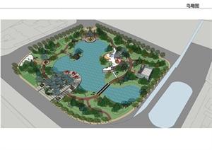 毕业设计——街心公园景观设计方案