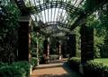 花架,廊道,廊架,花池,坐凳,铁艺花架