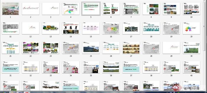 某生态旅游区景观概念规划方案(6)